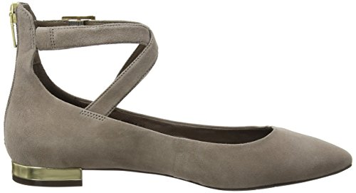 Motion Mujer Beige Rockport Anklestrap Bailarinas Para taupe Adelyn Total pw5qqx4HA7