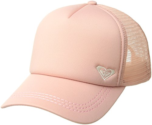 Roxy Junior's Finishline Trucker Hat, Rose Tan, One Size - Tan Trucker Hat