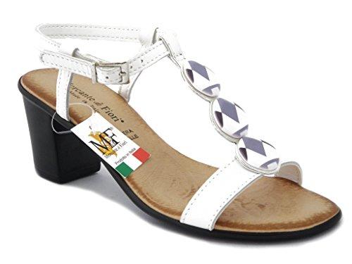 OSVALDO PERICOLI , Sandales pour femme - weiße