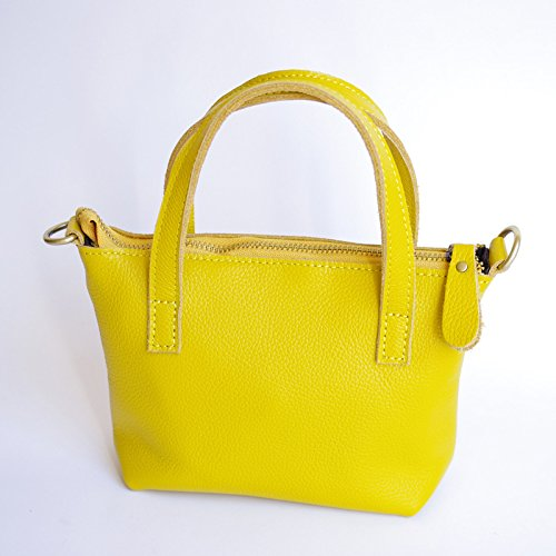 Simple GUANGMING77 yellow Un Bandoulière Sac Portable À Zp4n8Hz