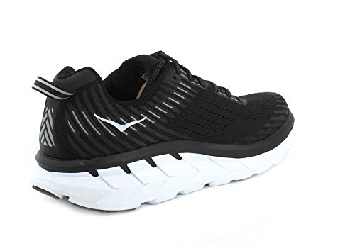 Synthetic Hoka Clifton 5 Textile One Hombre Blanco Entrenadores One Negro 1wqqHp4