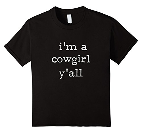 Kids I'm a Cowgirl Y'all shirt - easiest
