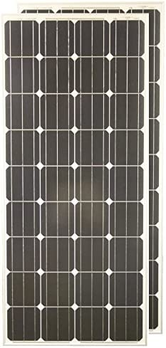 PowerFree Plug-n-Power 2-in-1 Space Flex 200w Two 100w Solar Panels Charging Kit for 12v Off Grid Battery – next day from U.S.