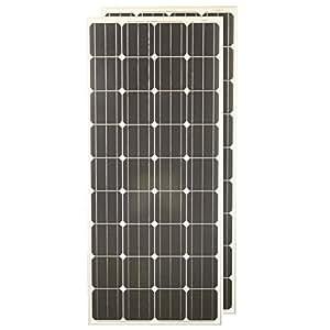 Grape Solar 180W Monocrystalline Solar Panel (2 Pack)