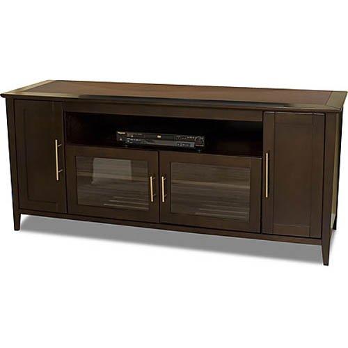 TechCraft SHK6428E 64-Inch Wide Flat Panel TV Credenza – Espresso