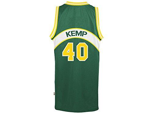 Shawn Kemp Seattle Supersonics Adidas NBA Throwback Swingman Jersey - Green (Jersey Throwback Green)