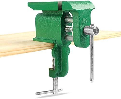 GENERICS LSB-Werkzeuge, Multifunktionaler Juwelier-Schraubstock aus Gusseisen zum Aufspannen mit großem Amboss Hobby-Schraubstock zum Aufspannen auf den Tisch Mini-Schraubstock for Handwerkzeuge