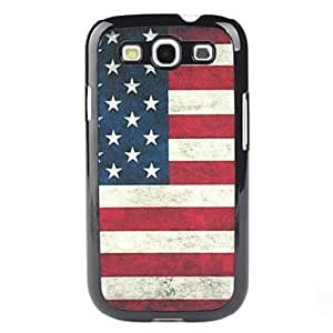 Retro USA Flag Pattern Hard Case for Samsung Galaxy S3 I9300