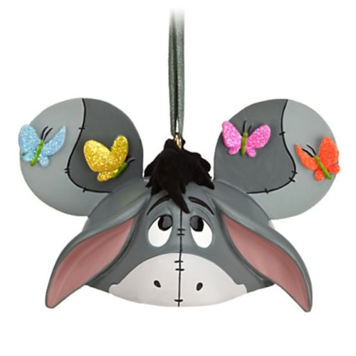 Disney Parks Eeyore Mickey Mouse Ears Hat Ornament NEW RELEASE (Eeyore Christmas Ornament)