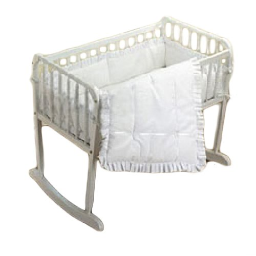 bkb Simplicity Cradle Bedding, White 18'' X 36''