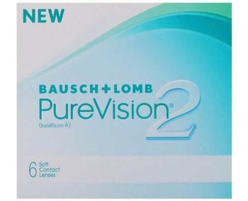 Bausch & Lomb PureVision 2 HD, 1 x 6 Stück, Dioptrien: -2,50