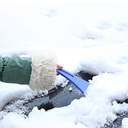 Ogquaton Premium Qualit/é Portable Grattoir /À Glace Icebreaker Voiture Pare-Brise Grattoir Pelle /À Neige Hiver Remover Outil pour Voiture Noir