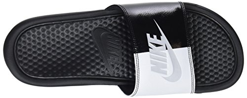 Nike Benassi Blue, Men's Sports Shoes Black (Black/Pure Platinum/Black/White 015)