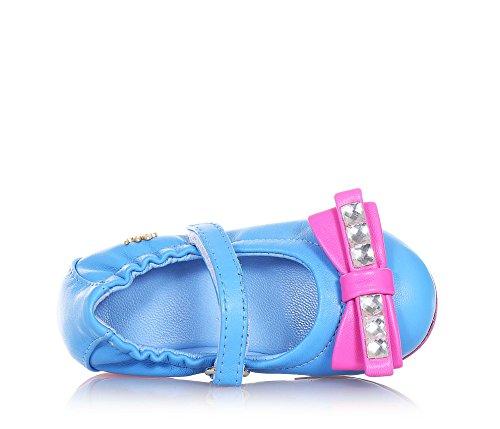 MI. MI. Sol , Mocassins pour fille - bleu - bleu, 25 EU