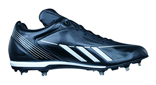 adidas Baseball Mens Shoes 3 Black Black Adizero Low FIXMETAL Cleats AxqgrA4