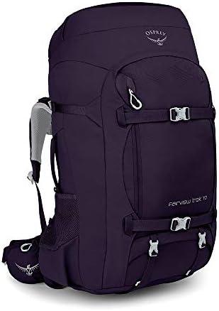 Osprey Fairview Trek 70, Womens Travel Pack - Amulet Purple O/S ...