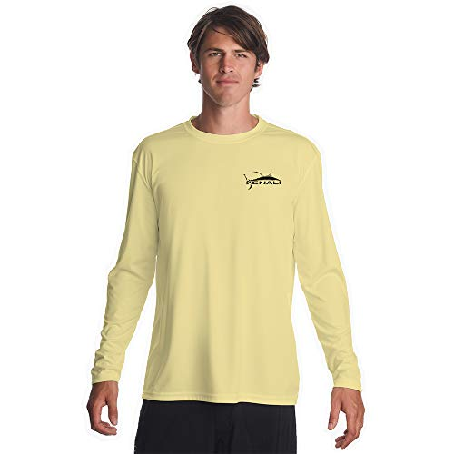 Denali Performance Men's Teaser-Tournament UPF 50+ ProtectUV Mega Solar Long Sleeve T-Shirt (Long Sleeve T-shirt Action)