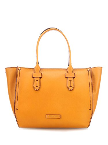 THE BRIDGE SARTRE 0414383Y SHOPPING TOTE GIALLO