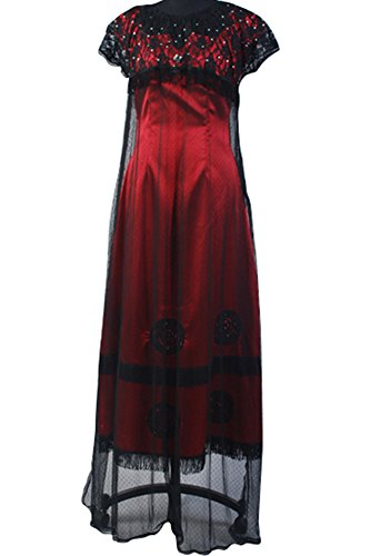 Wecos Titanic Rose Dress Victorian Halloween Costume X-Large -