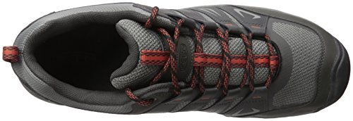 Keen Mens Oakridge Shoe Raven/Burnt Ochre
