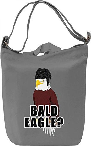 Bald Eagle? Borsa Giornaliera Canvas Canvas Day Bag| 100% Premium Cotton Canvas| DTG Printing|