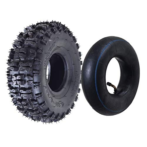 ZXTDR Tire and Inner Tube 4.10x3.50-4