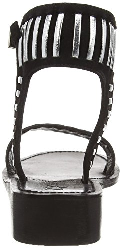 Black Lily Nirina Sandaal Dames Open Sandalen Zwart (black)