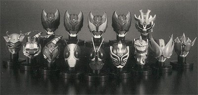 Kamen Masked Rider Mask Collection Vol.5 case of 8 (Mask Rider Kamen)