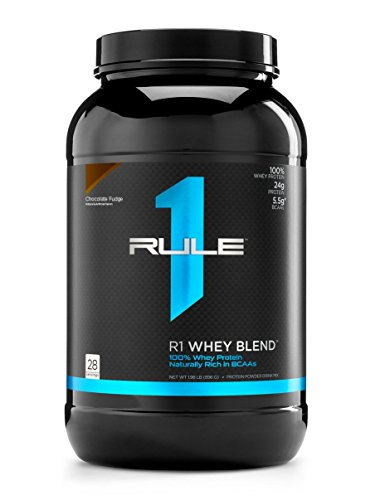 Cheap R1 Whey Blend, Rule 1 Proteins (Chocolate Fudge, 28 Servings)
