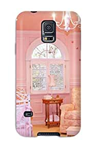 Series Skin Case Cover For Galaxy S5(pink Walls And Decor In Baby Girl Nursery)
