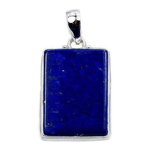 Lapis Pendant (Deepest Blue' Sterling Silver Lapis Lazuli Pendant)