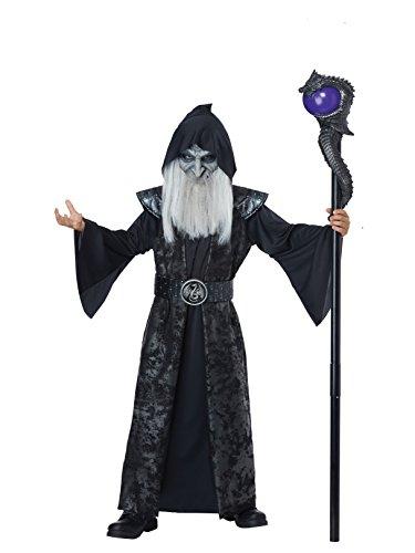 Dark Wizard - Child Costume Black ()