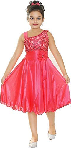 STYLO KIDS Girls Midi/Knee Length Party Dress
