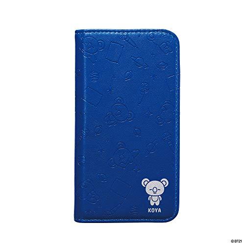 かんたんアダルトテープiDress CAT FLIP BT21公式 KOYA 自動で閉じて画面を守る 手帳型 iPhoneケース iPhone8/7/6s/6 i32DBT13