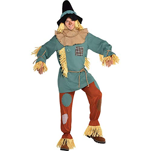 SUIT YOURSELF Silly Scarecrow Costume for Men, Wizard of Oz, Standard, with Included Accessories