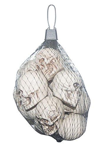 Bag of 12 Skulls Standard (Foam Skull)