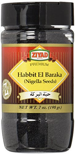 Seeds Nigella (Ziyad Premium Nigella Seeds, 7 Ounce)