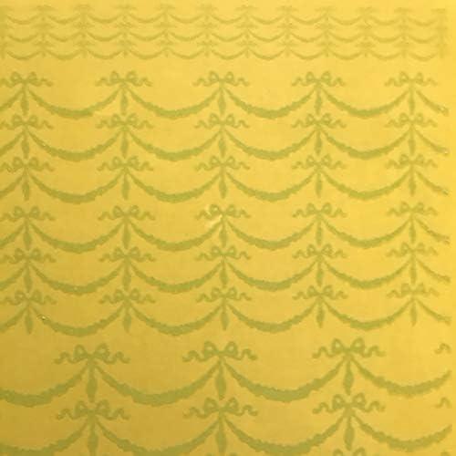 ラブフルール ポーセラーツ 転写紙 LOVE FLEUR リボンガーランド転写紙 ホワイト(ガラス用) /RBNGLD-WHG/
