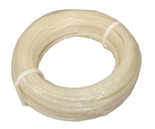 ATP Nylochem Nylon Metric Plastic Tubing, Natural, 4 mm ID x 6 mm OD, 25 meters Length