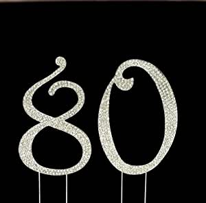 Amazon.com: Number 80 for 80th Birthday or Anniversary ...
