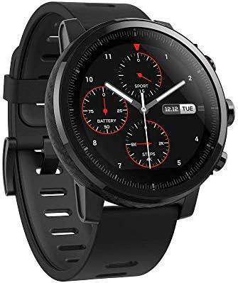 Amazfit Stratos Reloj Inteligente Multideporte con VO2max, frecuencia cardíaca y Seguimiento de Actividad, GPS, Resistencia al Agua de 5 ATM, música ...