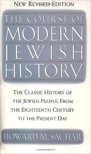 Course history jewish modern vintage photo