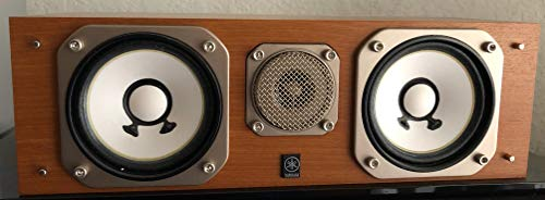 Yamaha NS-10MMCTR Dual 3.5-Inch 2 Way Center Channel Speaker 120W Real Wood Cherry Finish (Each)