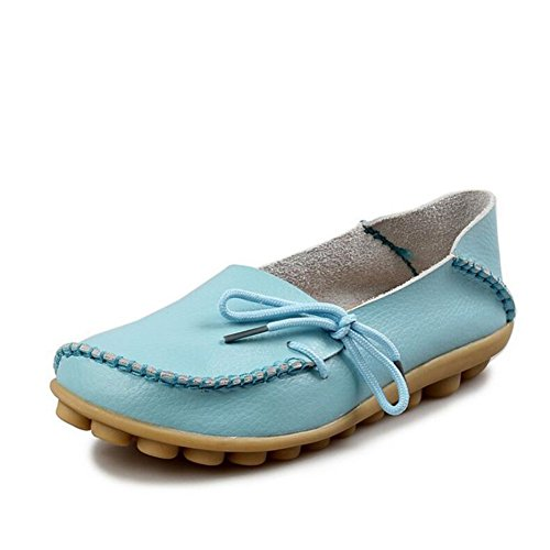 Grande Oxfords Chaussures Femmes HUAN de Été D Low Taille Cuir pour Sport Ons en Top Mocassins Infirmière Chaussures Pois de Printemps Slip Chaussures Plates TwFd1wq