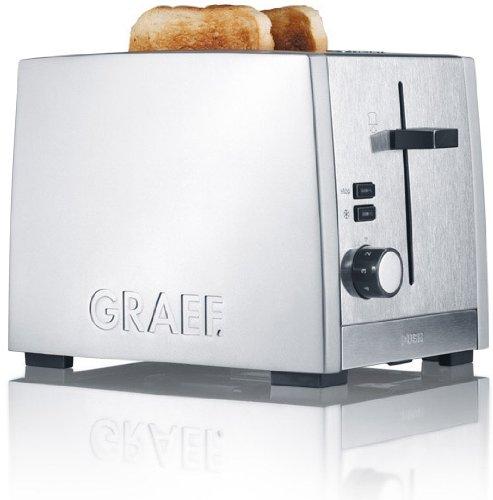 Graef, TO 80, Tostapane in acciaio Inox Gebr. Graef TO80