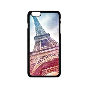 Classic Style Custom TPU Hard Rubber Case for iPhone6(4.7inch) - Eiffel Tower