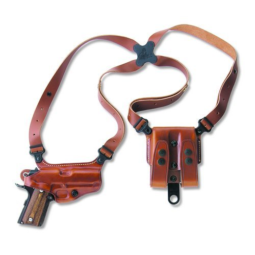 Galco Miami Classic Shoulder System (Tan), Browning Hi-Power, Right Hand