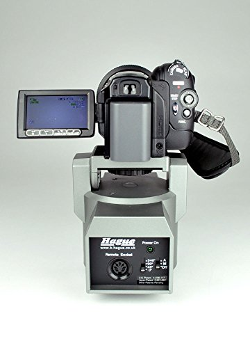 Hague Motorized Pan /& Tilt Remote Control Power Head For DSLR Cameras Camcorders