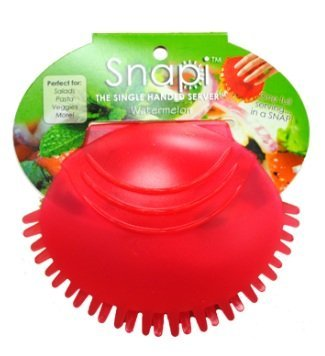 Snapi - The Single Handed Salad Server - Watermelon (Red) ()