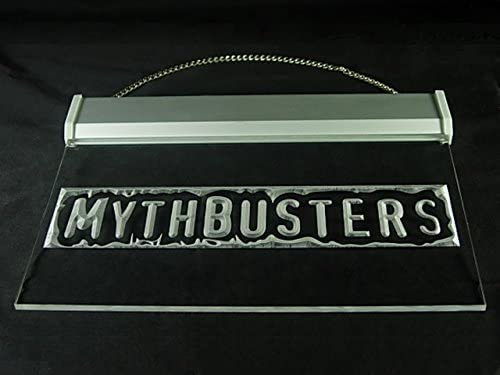 gomompa Mythbusters Adam /& Jamie Hub Bar Advertising LED Light Sign P566Y